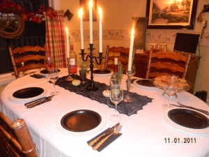 My Soul Supper Table 2011