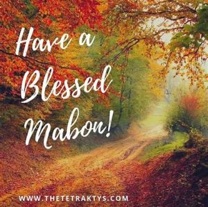 Blessed Mabon
